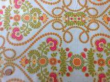 Michael Miller Ooh La La Coeur de Fleurs Floral Aqua Cotton Quilting Fabric FQ