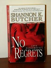 No Regrets by Shannon K. Butcher 2007 Paperback Romantic Suspense