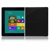 Skinomi Carbon Fiber Black Skin+Screen Protect for Microsoft Surface Windows RT