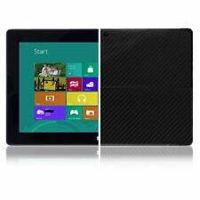 Skinomi Carbon Fiber Black Skin+Screen Protect for Microsoft Surface Windows RT