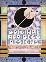 Original Art Deco Designs - Rowe - Dover Publications 1973