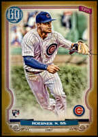 Nico Hoerner 2020 Topps Gypsy Queen 5x7 Gold #201 /10 Cubs