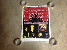 Rare! Cd Lp Supafuzz Promo Poster 24x18 all about the rock Music vintage