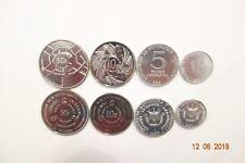 BURUNDI COIN SET 1,5,10,50 FRANCS UNC COINS