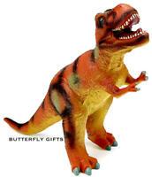 Large Soft Foam Rubber Stuffed Dinosaur Play Toy Animals Action Figures New U.K