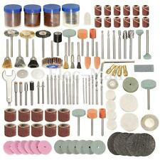 "166Pcs Rotary Power Tool Set 1/8"" Shank Sanding Polish Accessory Bit"