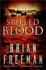 Spilled Blood by Brian Freeman (2014, Paperback)