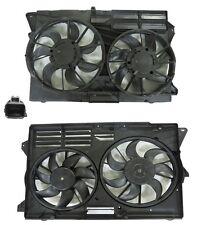 New Dual Radiator & Condenser Fan FOR 2013 2014 2015 2016 Ford Explorer