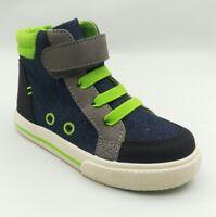Boys Toddler Cat & Jack Tillman High Top Sneakers Blue/Green Select Size (3384)