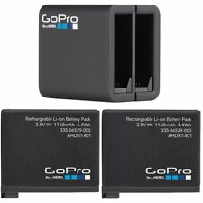 Gopro Hero4 Dual Battery Charger and original battery*2