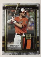 Trey Mancini Game Used 3-color Relic SP 🔥 Museum Collection #ed /25 🔥 Orioles