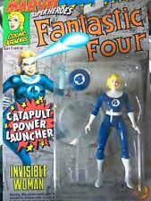 Figura mujer invisible catapult power cuatro fantásticos Marvel