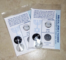 URIM AND THUMMIM Lot of 2 (TWO) Representation Great for Teaching Take a L@@K