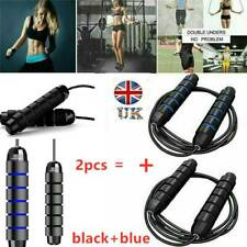 2pcs 10ft/3Meters Adjustable Boxing Skipping Rope Gym Weighted Jump