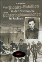 Soldatenbiographie - Waffen-SS - Götz von Berlichingen - Normandie + Signatur!