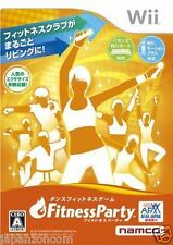 Used Wii Fitness Party NINTENDO JAPAN JP JAPANESE JAPONAIS IMPORT