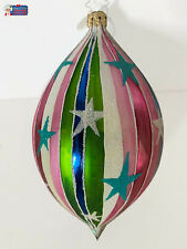 "Christopher Radko Ornament Shiver Me Stripes, 1012529. 5.25""tall"