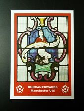 MANCHESTER UNITED - DUNCAN EDWARDS - RETRO CHRISTMAS 'FOOTBALL CARD' /GIFT TAG