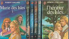 MARIE DES ISLE tomes 1 à 4 L'HERITIER DES ISLES 1 et 2 Robert Gaillard COMPLET