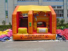 MASSIVE JUMPING CASTLE SALE - 4mx4m Toybox JumpnSlide Combo **Commercial ** USED