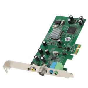 Pci-E Internal Tv Tuner Card Mpeg Video Dvr Capture Recorder Pal Bg Pal-I Nts C0