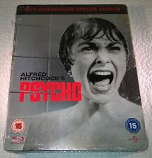 Alfred Hitchcock's Psycho (2010, UK) 1st Print 50th Anniversary Steelbook NEW