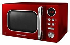 Morphy Richards Accents 20L 800w Standard Microwave  - Red - 511502