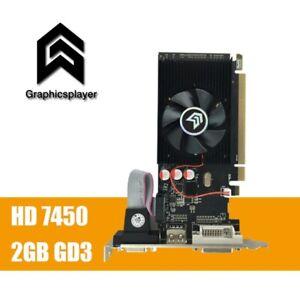 Graphics Card PCI Express HD7450 2GB DDR3 64bit LP DDR3 VGA Card for ATI Radeon