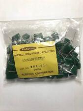 100pcs 400mmw224kef Metal Film Cap Radial 022uf 400v 10 Bag Of 100pcs