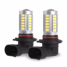 9005 HB3 6000K White 5630 33 SMD LED 12V Car Driving Fog Light Headlight Bulbs