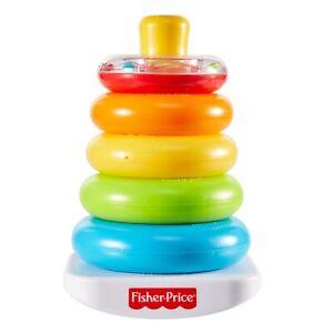 Fisher Price Gioco ad Anelli Impilabili Piramide Multicolore GKD51 6+ Mesi