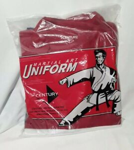 Century Martial Art Uniform Size 1 Red White And Blue Top and Pants