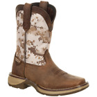 Durango Kids' Lil' Rebel Desert Camo Cowboy Boots