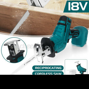 3000W Cordless Electric Reciprocating Saw Powerful Wood Metal Cutting+Battery