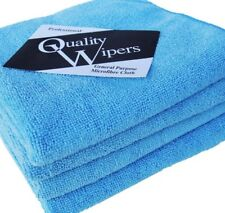 Microfibre Cleaning Cloths 10 Pack, Blue, Microfibre Dusters, Machine Washable
