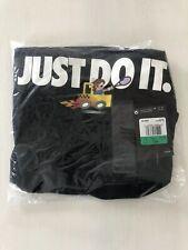 Nike Roger Federer Emoji Size Xl 889146-010 Us Open Nwt Rf Just Do It Black