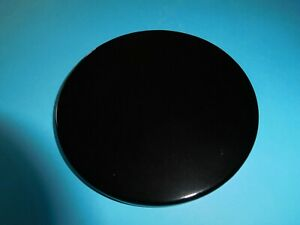 Large Black Obsidian Crystal Round Scrying Mirror 89mm - 96mm Clairvoyance