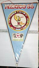Soccer pennant Mexico 86