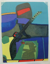 Maurice ESTEVE (1904-1968) Arizovert. 1972, lithographie originale, Cahier d'art