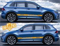 Auto Seitenstreifen Aufkleber Grafik Racing Aufkleber VW Volkswagen Tiguan