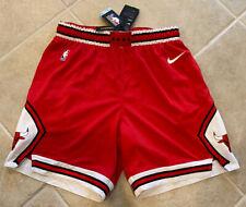 Chicago Bulls Nike Mens XL 42 Icon Basketball Red Road Shorts AJ5593-657 Rare