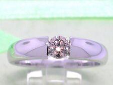 Diamant Brillant Ring 585 Weißgold 14Kt Gold 0,25ct Solitär Verlobungsring