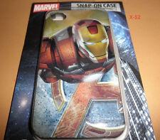 IRON MAN Robert Downey jr AVENGERS iphone 4 4S snap on case MARVEL universe toy