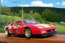 Bburago 1989 FERRARI 348 tb evoluzione metal diecast model scale 1 18 Italy