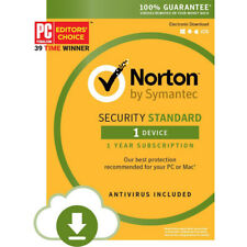 Norton By Symantec Security Standard 1 Device Antivirus Email Delivery #0974