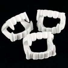 White Plastic Halloween Vampire Teeth Fun Express Costume Accessories -24 Pieces