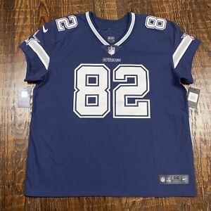 Nike Authentic Vapor Elite Jason Written Dallas Cowboys Jersey Size 56 3XL $325