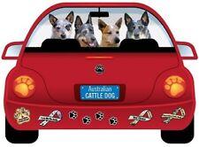 Australian Cattle Dog-Pupmobile Magnet