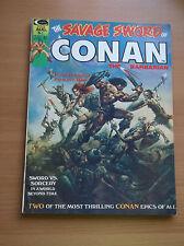 MARVEL (CURTIS): SAVAGE SWORD OF CONAN #1, BARRY SMITH, 1974, VF+ (8.5)!!!