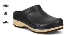 Dansko Kane Clog Black Molded Slip-On Women's EU sizes 35-43/NEW!!